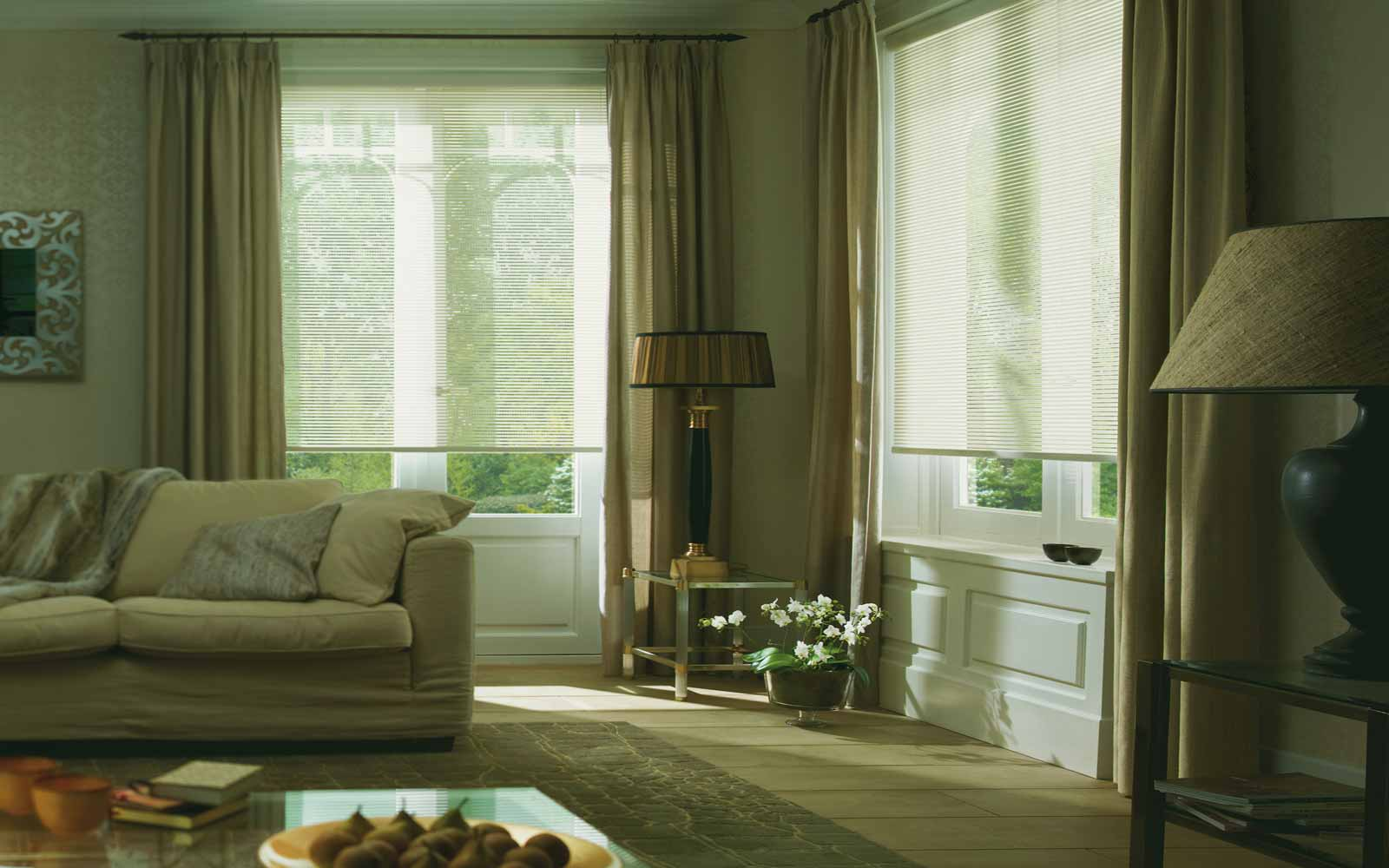 Roller blinds surrey blinds shutters for Window voiles
