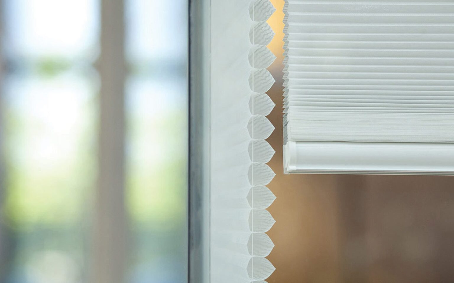 how to clean pleated fabric blinds