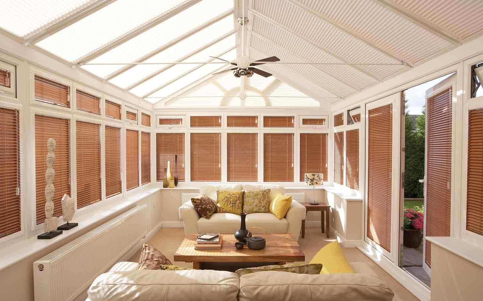 Conservatory Side Blinds Surrey Blinds Amp Shutters