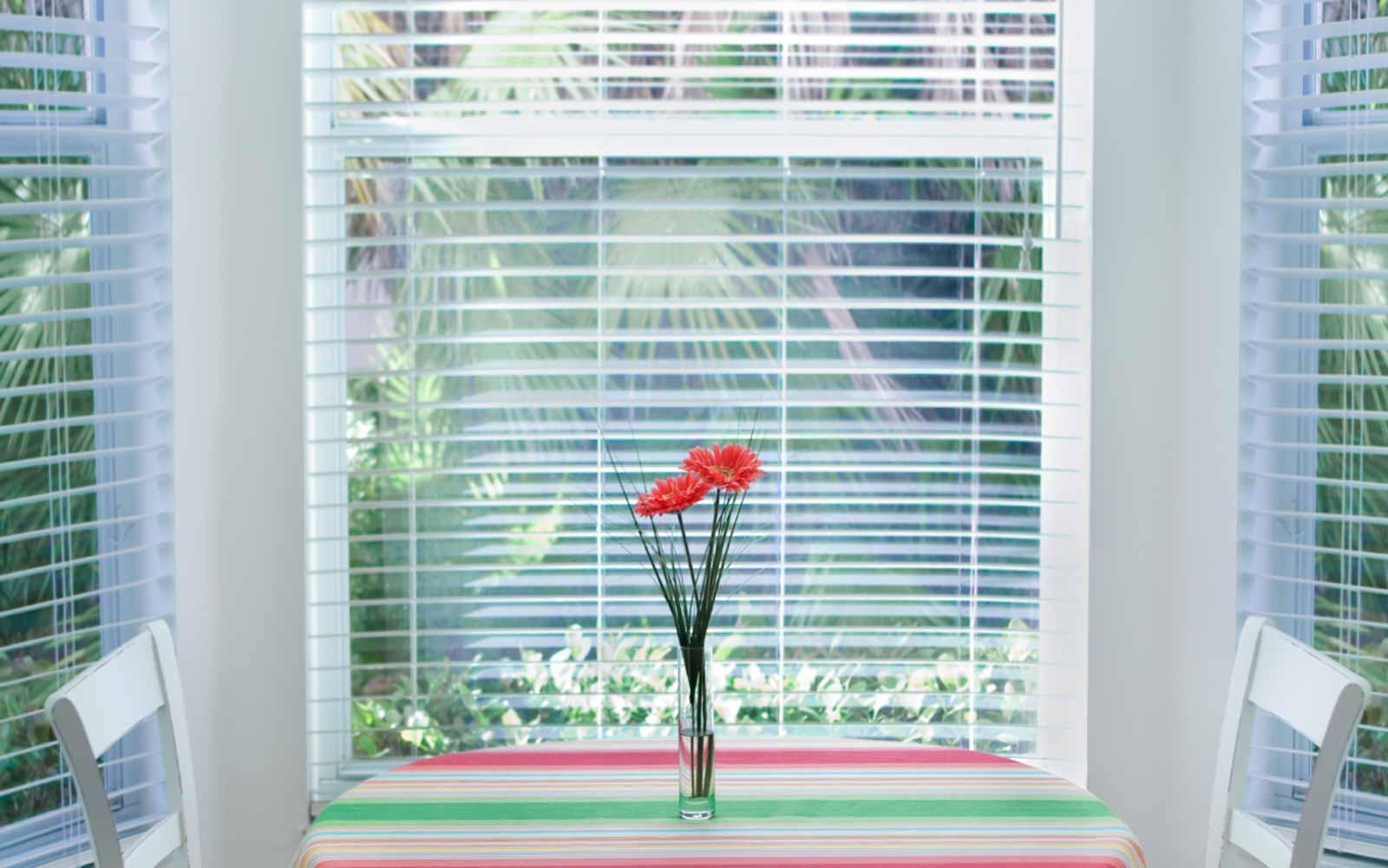 Bay Window Aluminium Venetian Blind