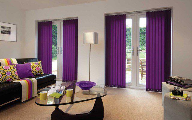 Coloured-Vertical-Blinds-Door