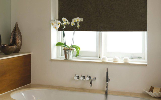 Roller Blinds in a Bathroom