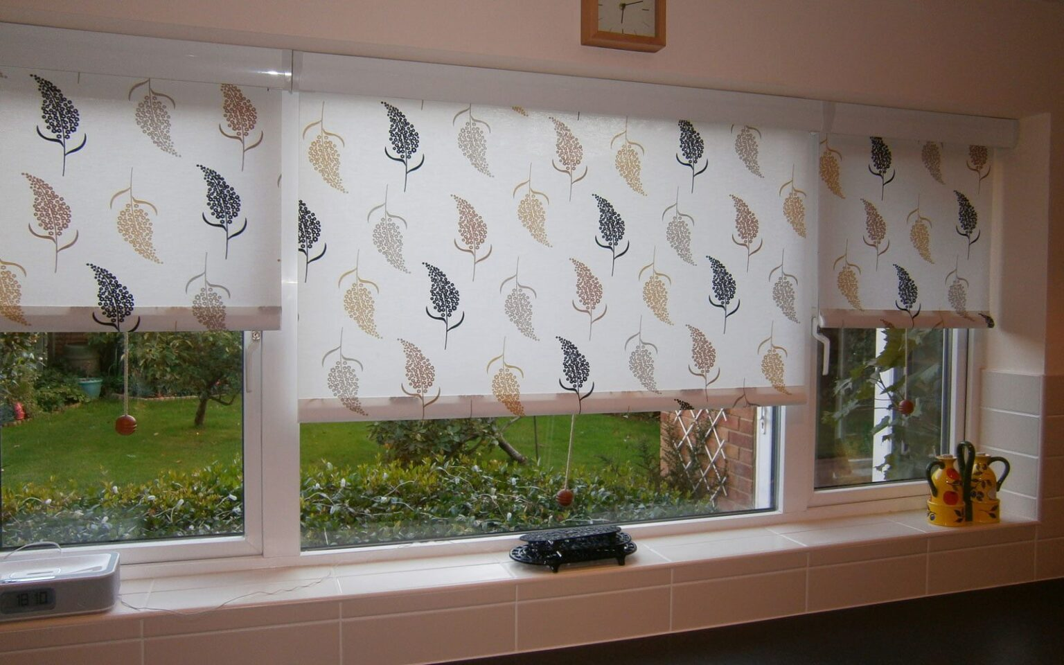 Patterned Blinds For Kitchen Patterned Roller Blinds Kitchen Cassette Surrey Blinds Shutters