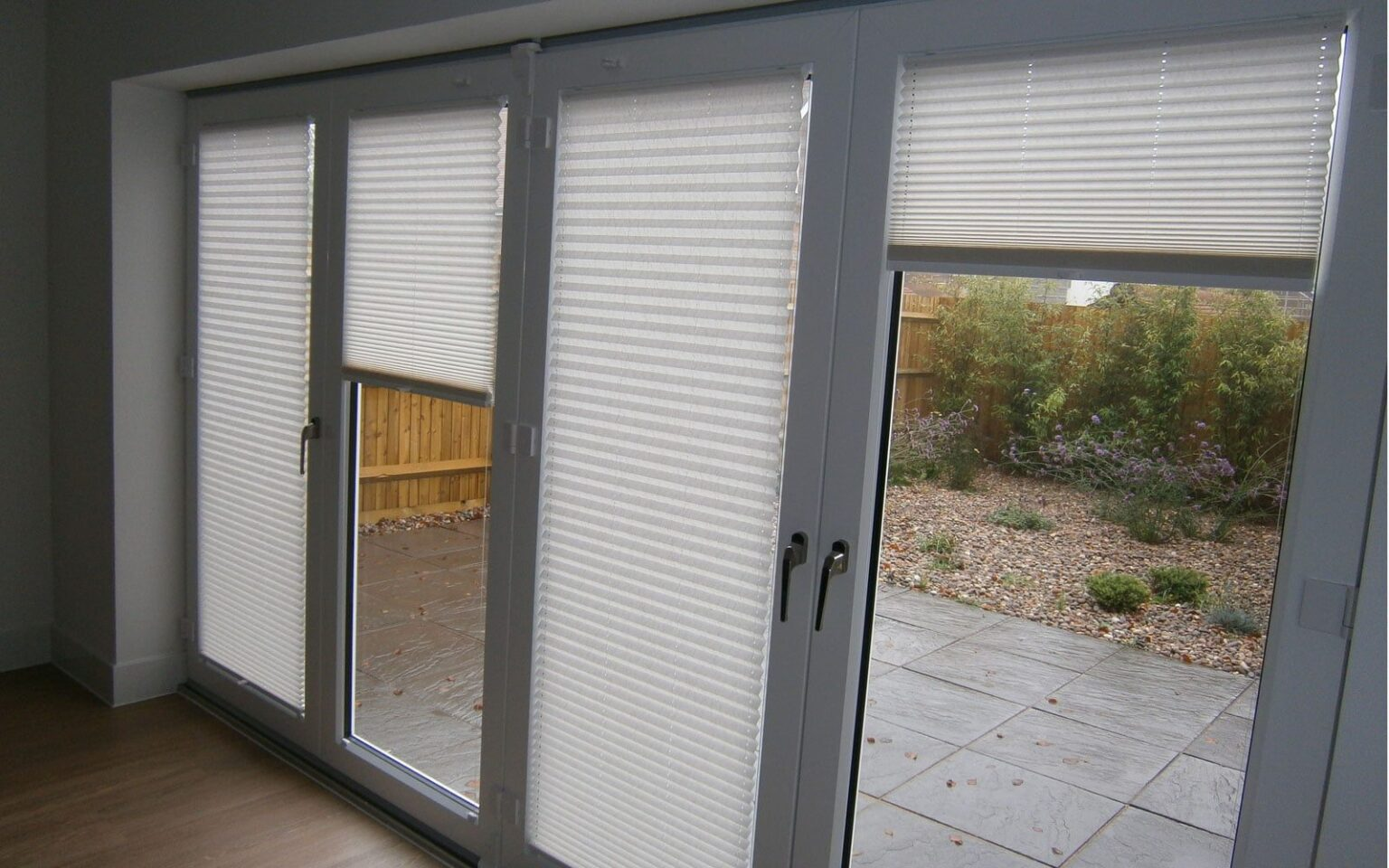 Sliding Patio Door Blinds : Pleated doors full image for pinch pleat drapes