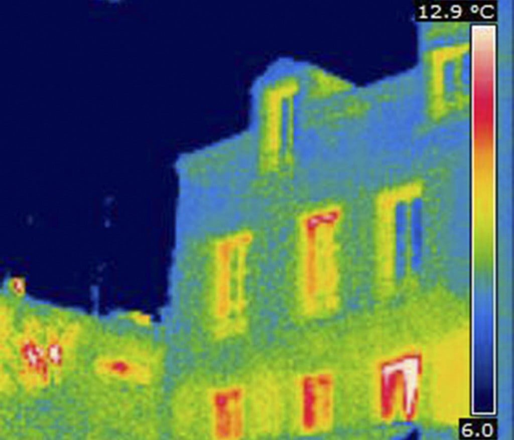 Thermal Image Of Heat Loss