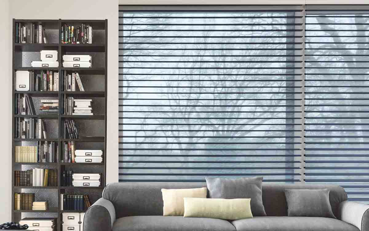 Try Shade Fabric Roller Blinds In A Lounge