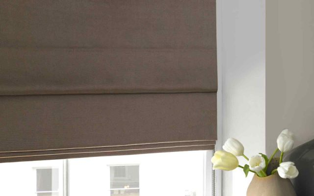 Noise Reducing Roman Blinds