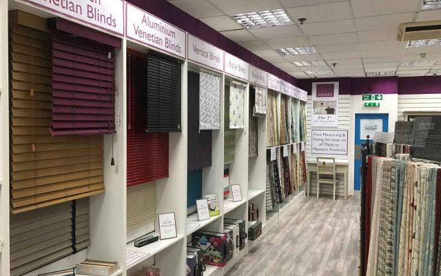 Camberley Showroom Surrey Blinds Amp Shutters