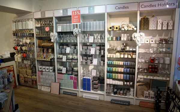 Surrey Home and Gifts Camberley Candles and Diffusers