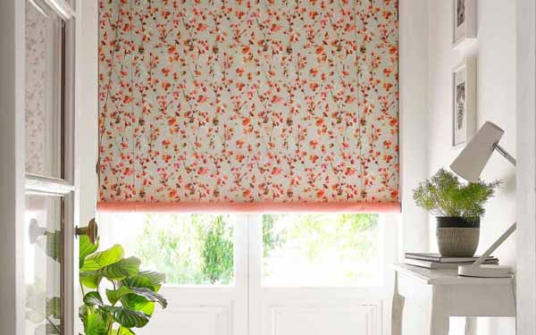 Patterned Roller Blind