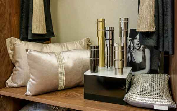 Kylie Home Poles and Cushions Showroom