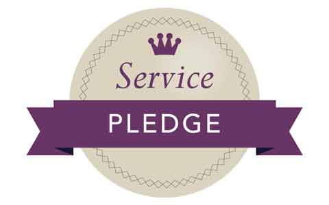 Service Pledge Surrey Blinds