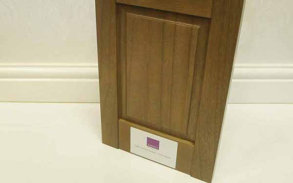 Shaker Style Raised Plantation Panel