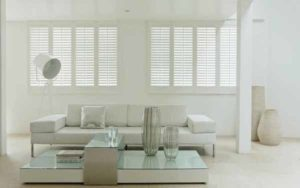 Plantation Shutter Living Room