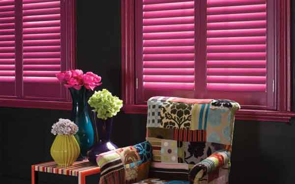 Painted Concealed Tilt Plantation Shutters