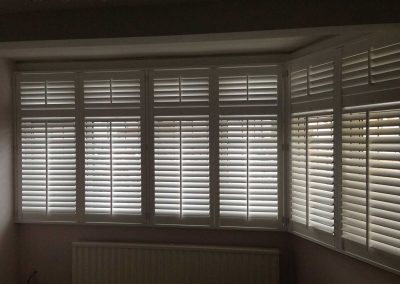 Plantation Shutters in a Bay