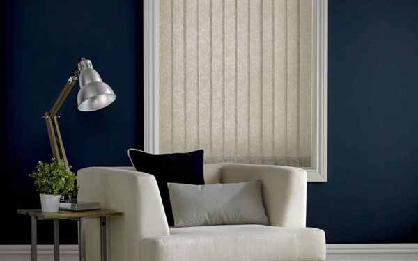 Patterned Vertical Blinds
