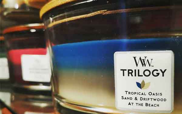 Woodwick Trilogy Hearthwick Candles