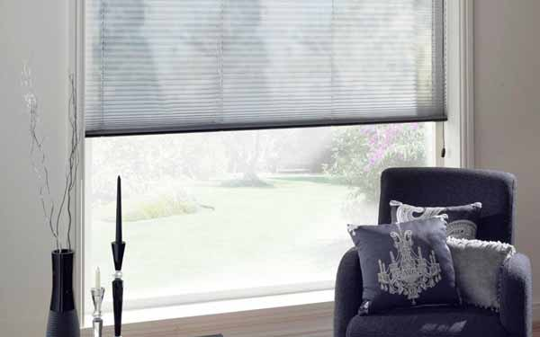 Voile Pleated Blind