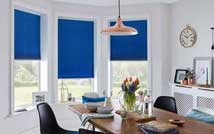Bay Window Pleated Blind