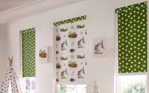 Patterned Blackout Roller Blinds